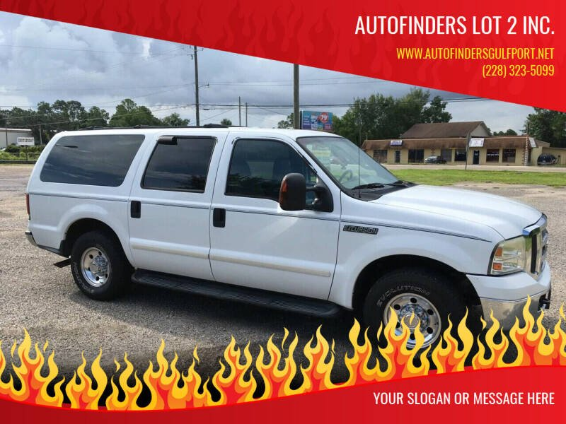 2005 Ford Excursion for sale at Autofinders in Gulfport MS