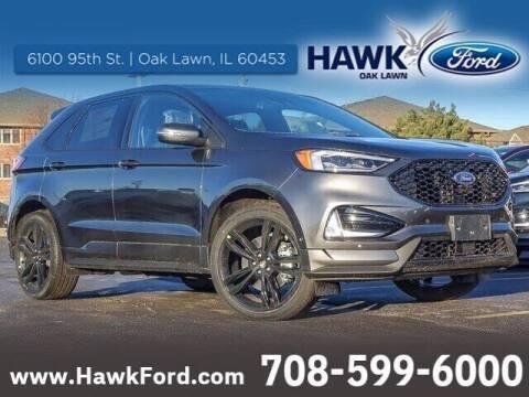 2020 Ford Edge for sale at Hawk Ford of Oak Lawn in Oak Lawn IL