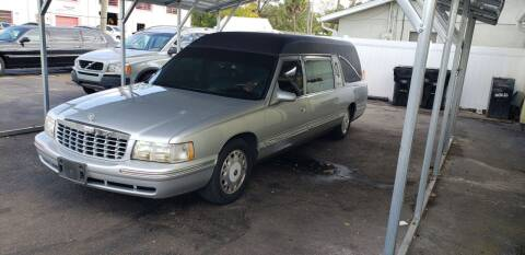 1999 Cadillac DeVille for sale at ANYTHING ON WHEELS INC in Deland FL