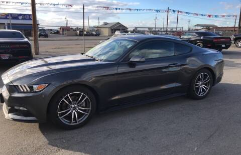 2017 Ford Mustang for sale at First Choice Auto Sales in Bakersfield CA