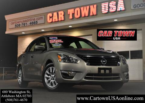 2013 Nissan Altima for sale at Car Town USA in Attleboro MA