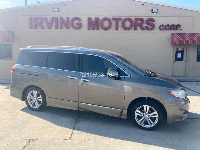 2015 Nissan Quest for sale at Irving Motors Corp in San Antonio TX