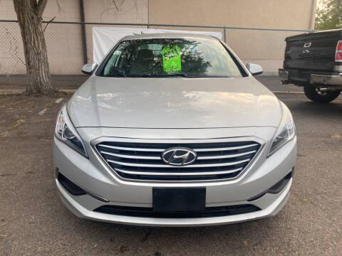 2016 Hyundai Sonata for sale at GO GREEN MOTORS in Lakewood CO