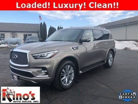 2019 Infiniti QX80 for sale at Rino's Auto Sales in Celina OH