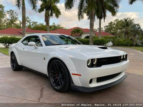 2019 Dodge Challenger for sale at Autohaus of Naples in Naples FL