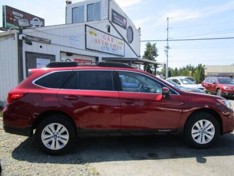 2017 Subaru Outback for sale at G&R Auto Sales in Lynnwood WA