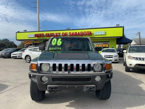 2006 HUMMER H3 for sale at Auto Outlet of Sarasota in Sarasota FL