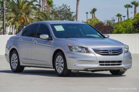2012 Honda Accord for sale at Euro Auto Sales in Santa Clara CA
