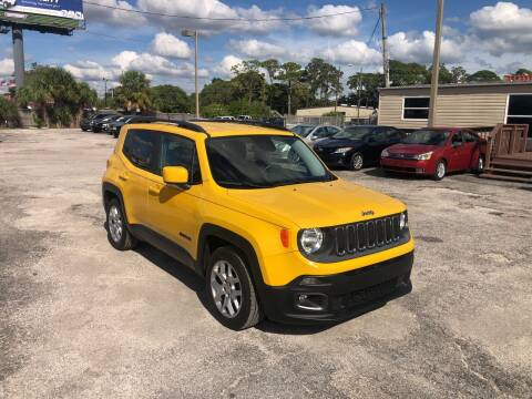 2015 Jeep Renegade for sale at Friendly Finance Auto Sales in Port Richey FL