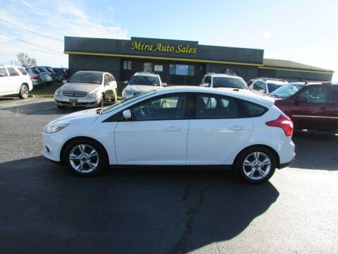 2014 Ford Focus for sale at MIRA AUTO SALES in Cincinnati OH