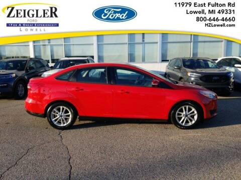 2016 Ford Focus for sale at Zeigler Ford of Plainwell- Jeff Bishop in Plainwell MI