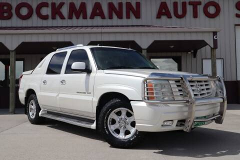 2004 Cadillac Escalade EXT for sale at Bockmann Auto Sales in St. Paul NE