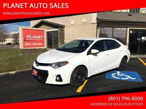 2016 Toyota Corolla for sale at PLANET AUTO SALES in Lindon UT