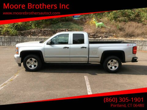 2014 Chevrolet Silverado 1500 for sale at Moore Brothers Inc in Portland CT
