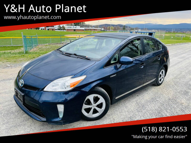 2012 Toyota Prius for sale at Y&H Auto Planet in West Sand Lake NY
