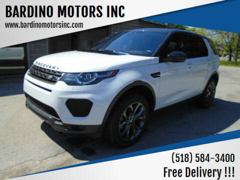 2019 Land Rover Discovery Sport for sale at BARDINO MOTORS INC in Saratoga Springs NY