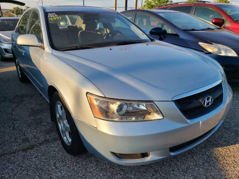 2006 Hyundai Sonata for sale at AA Auto Sales LLC in Columbia MO