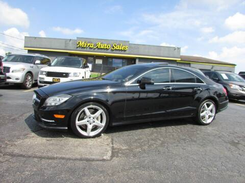 2014 Mercedes-Benz CLS for sale at MIRA AUTO SALES in Cincinnati OH