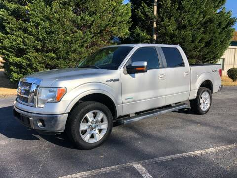 2012 Ford F-150 for sale at GTO United Auto Sales LLC in Lawrenceville GA
