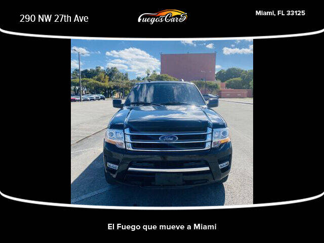 2016 Ford Expedition EL for sale at Fuego's Cars in Miami FL