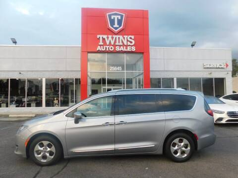 2017 Chrysler Pacifica for sale at Twins Auto Sales Inc Redford 1 in Redford MI