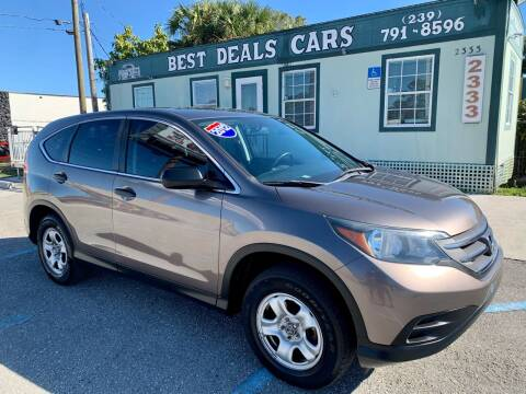2012 Honda CR-V for sale at Best Deals Cars Inc in Fort Myers FL