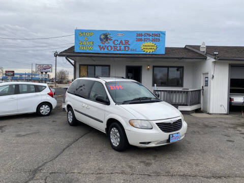2002 Chrysler Voyager for sale at CAR WORLD in Nampa ID