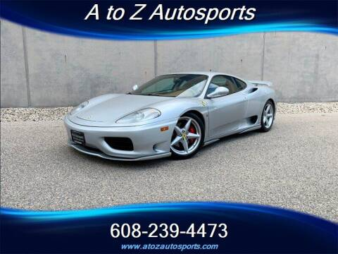 2002 Ferrari 360 Modena for sale at A To Z Autosports LLC in Madison WI