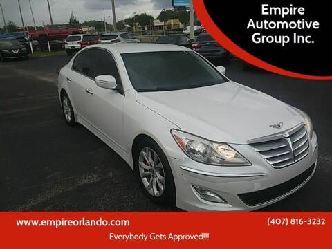 2012 Hyundai Genesis for sale at Empire Automotive Group Inc. in Orlando FL