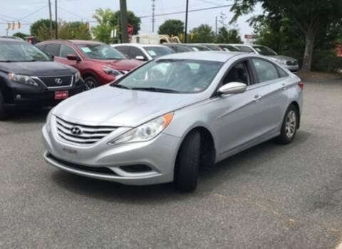 2013 Hyundai Sonata for sale at DON BAILEY AUTO SALES in Phenix City AL