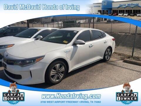2018 Kia Optima Plug-In Hybrid for sale at DAVID McDAVID HONDA OF IRVING in Irving TX
