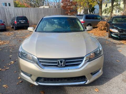 2014 Honda Accord for sale at Polonia Auto Sales and Service in Hyde Park MA