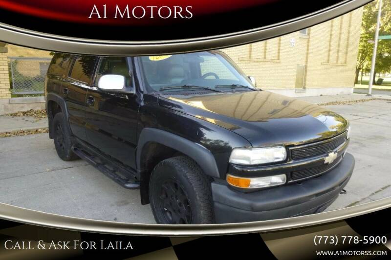 2002 Chevrolet Tahoe for sale at A1 Motors Inc in Chicago IL