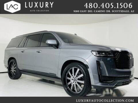 2021 Cadillac Escalade ESV for sale at Luxury Auto Collection in Scottsdale AZ