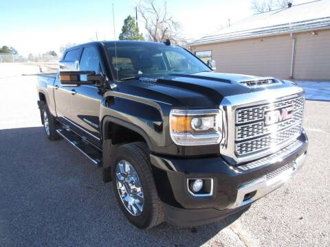 2018 GMC Sierra 2500HD for sale at HOO MOTORS in Kiowa CO