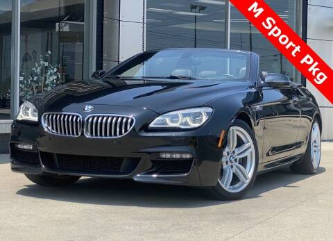 2016 BMW 6 Series for sale at Carmel Motors in Indianapolis IN