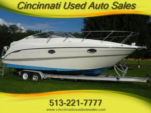 2001 Maxum 2700 SCR for sale at Cincinnati Used Auto Sales in Cincinnati OH