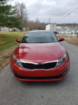 2012 Kia Optima for sale at Speed Auto Mall in Greensboro NC