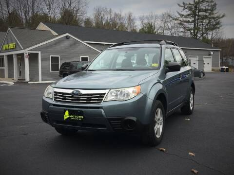 2010 Subaru Forester for sale at 207 Motors in Gorham ME