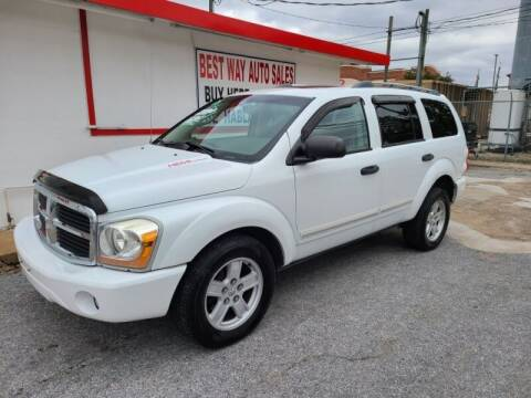 2006 Dodge Durango for sale at Best Way Auto Sales II in Houston TX