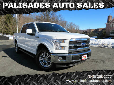 2017 Ford F-150 for sale at PALISADES AUTO SALES in Nyack NY