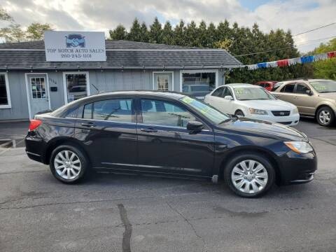 2012 Chrysler 200 for sale at Top Notch Auto Sales LLC in Bluffton IN