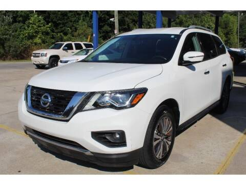2017 Nissan Pathfinder for sale at Inline Auto Sales in Fuquay Varina NC