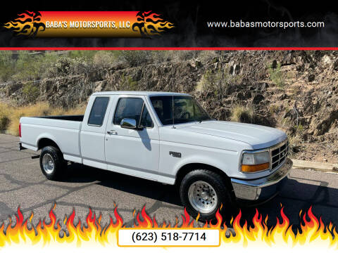 1996 Ford F-150 for sale at Baba's Motorsports, LLC in Phoenix AZ