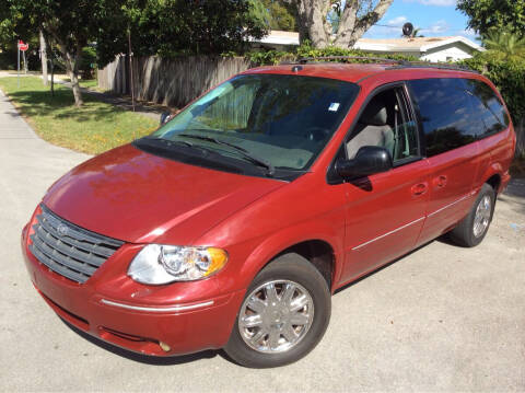 2005 Chrysler Town and Country for sale at LESS PRICE AUTO BROKER in Hollywood FL