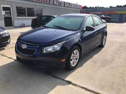 2012 Chevrolet Cruze for sale at DriveSmart Auto Sales in West Chester OH