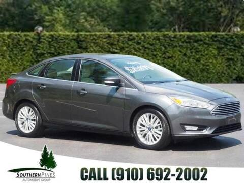 2018 Ford Focus for sale at PHIL SMITH AUTOMOTIVE GROUP - Manager's Specials in Lighthouse Point FL