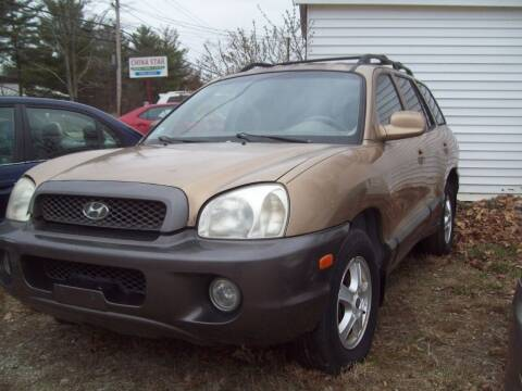 2002 Hyundai Santa Fe for sale at Frank Coffey in Milford NH