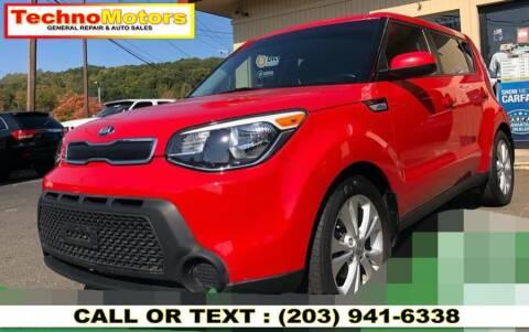 2015 Kia Soul for sale at Techno Motors in Danbury CT