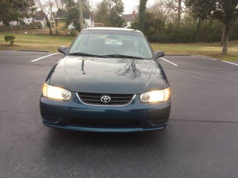 2002 Toyota Corolla for sale at Alfa Auto Sales in Raleigh NC